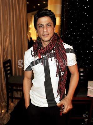 Shahrukh Khan golden globe rehearsels