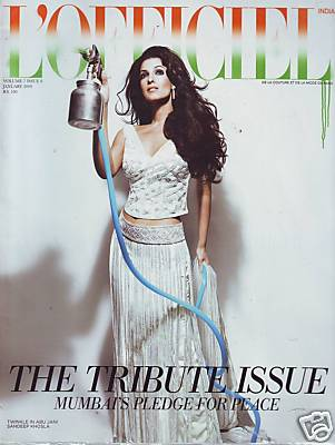 Twinkle Khanna L'Officiel India cover
