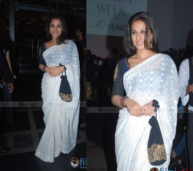 sonam kapoor vidya balan sabyasachi lakme fashion week fall 09