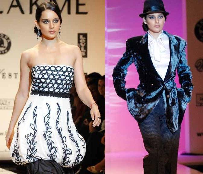 Kangana Ranaut Lakme Fashion Week Narendra Kumar