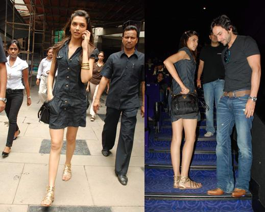 Deepika Padukone Love Aaj Kal screening Prada bag Miu Miu sandals