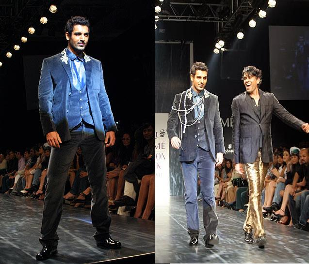 John Abraham Lakme Fashion Week Rocky S