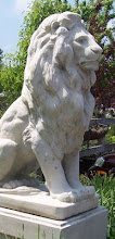 The sentinel or guardian lion is a common symbol of protection.