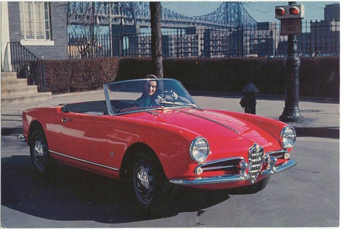 1961 Alfa Romeo Giulietta Spider. 1960 Alfa Romeo Giulietta