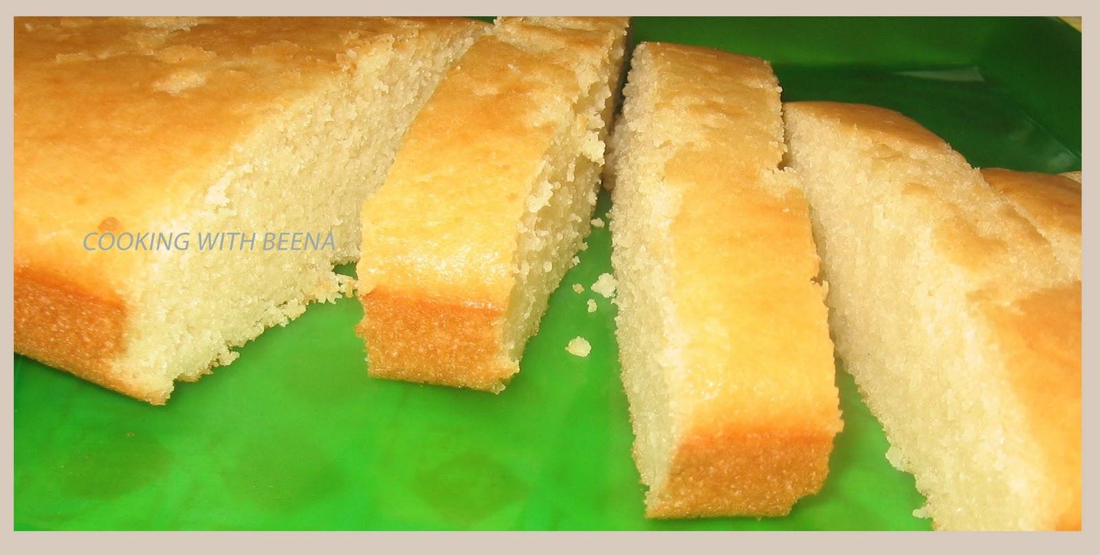 Sponge Cake Recipe Using Vegetable Oil