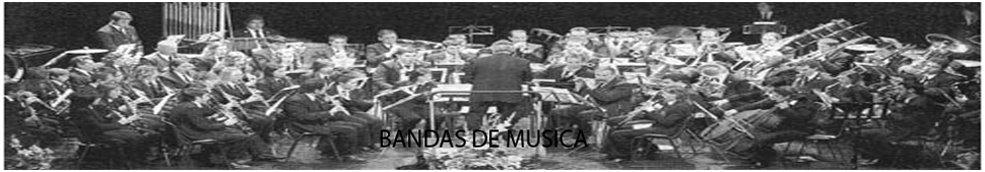 BANDAS DE MUSICA