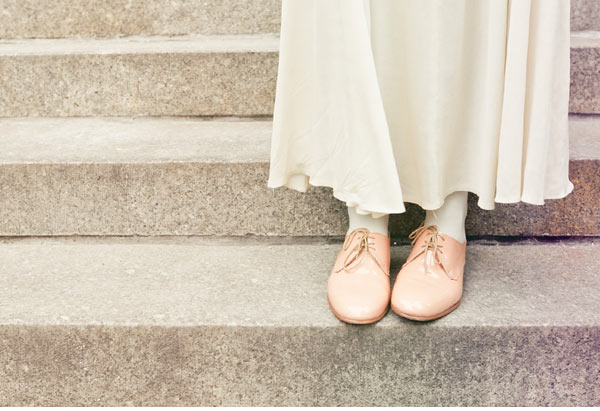 Hunt my wedding shoes flats boots oxford eyes rolling hehe