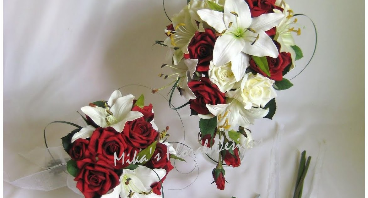 Wedding Flowers Roses And Lilies : Artificial wedding flowers and bouquets australia
