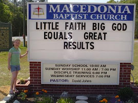 Little Faith + Big God = Great Results!