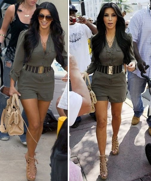 Kim Kardashian's Perfect Day-To-Night Look