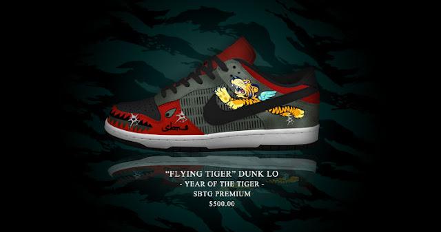 Nike Dunk+Tiger+fashionablyfly.blogspot.com