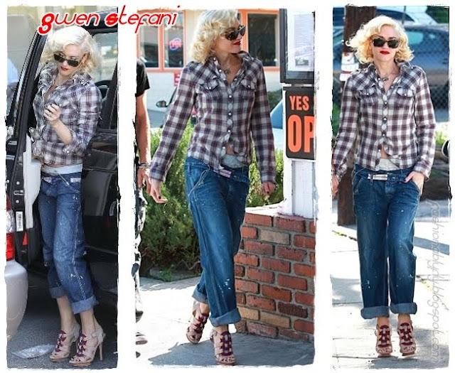 Gwen Stefani Boyfriend Jean+Fashionablyfly.blogspot.com