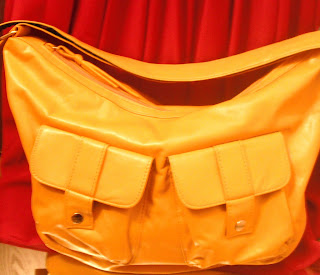 fashionablyfly.blogspot.com yellow purse