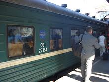 Trem para Petersburgo
