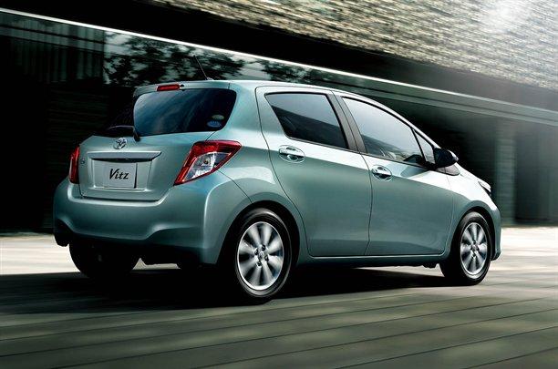 Toyota Yaris  Prime Immagini Del Nuovo Modello