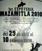 Fiestas Taurinas Expoferia 2010
