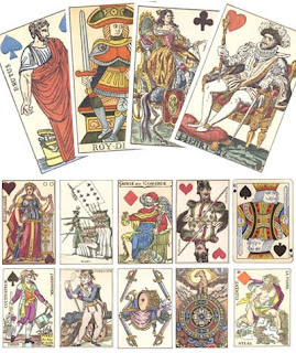 Старинные игральные карты как произведение искусства
