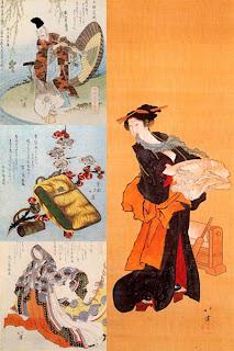 Японский художник Тотойя Хокки
