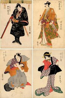 Гравюры японского художника Утагава Тойокуни И