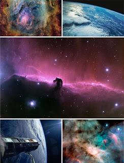 Космические обои для рабочего стола с видами звездного неба