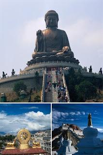 высококачественный фото клипарт по буддийским местам