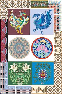 Набор паттернов высокого качества в китайском стиле