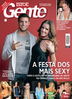 Amostras Gratis Revista IstoÉ Gente (sem dados bancarios)
