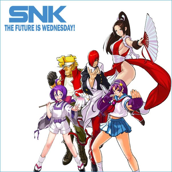 King Of Fighters UK SNK Wednesday KOFXIII Extended