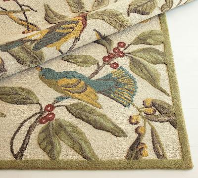 Bird Planter (click Here); Bird Dishes And Bird Rug   Pottery Barn; Bird  Wall Graphic   Amazon.