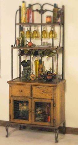 old sweetwater cottage bakers rack. Black Bedroom Furniture Sets. Home Design Ideas