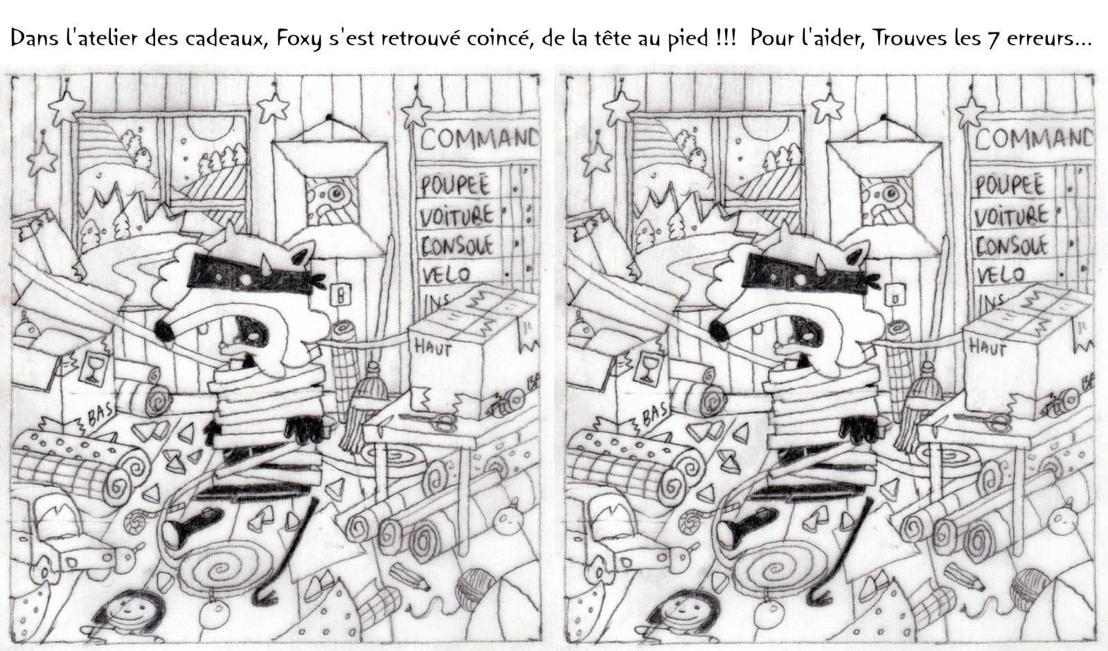 Tef graphiste illustrateur enfant 0609474204 tefgraph jeux des 7 erreurs magasine - Jeux imprimer adulte ...