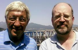 Bill Tieleman & former BC Premier Dan Miller