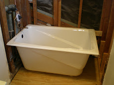 Deep Greek Tub Installation