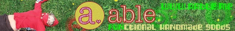a♥able :: sf:: : handmade goods from recycled materials