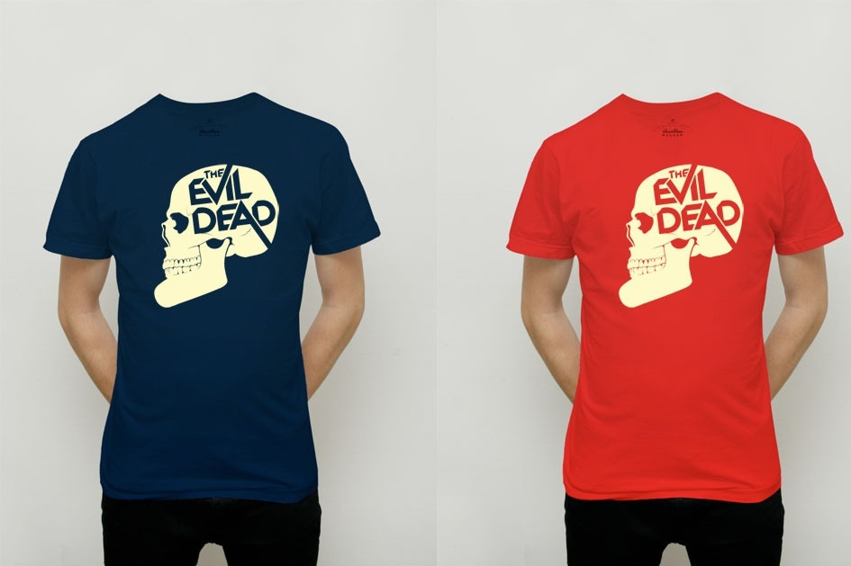 Olly Moss Evil Dead t-shirts