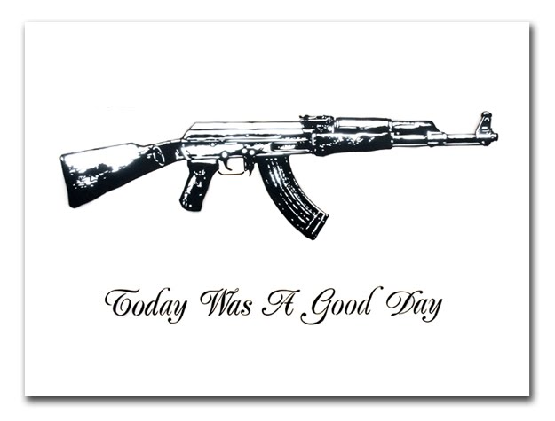 Today Was A Good Day Art Print by Rene Gagnon on sale NOW title=