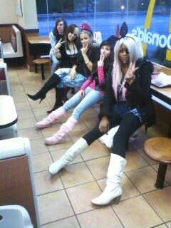 Rest Stop at Macdonalds