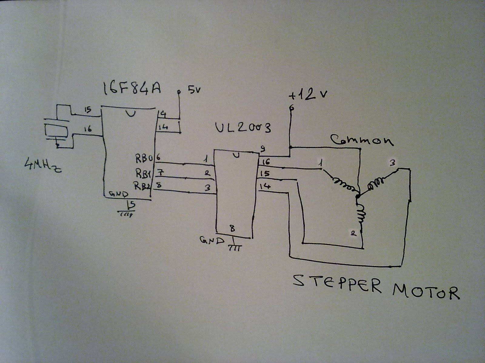 Embedded Systems In Egypt  16f84a Spindle Motor Control