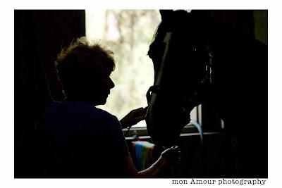 Janet & Horse Siluette