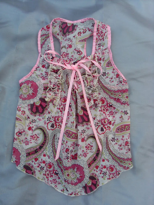 Siffon Pink Flowers Dress
