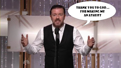Ricky Gervais at the 68th Golden Globes