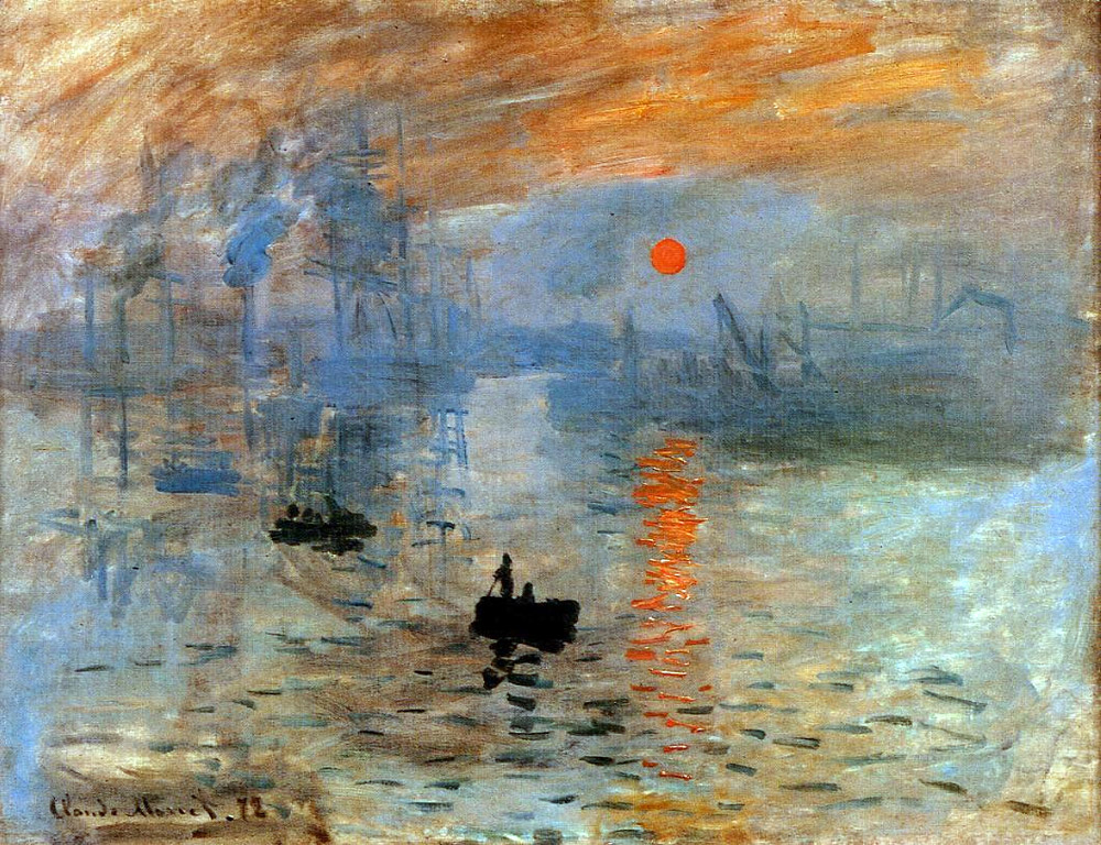 Art & Culture: 104: Sunrise and the Water Lilies, Monet