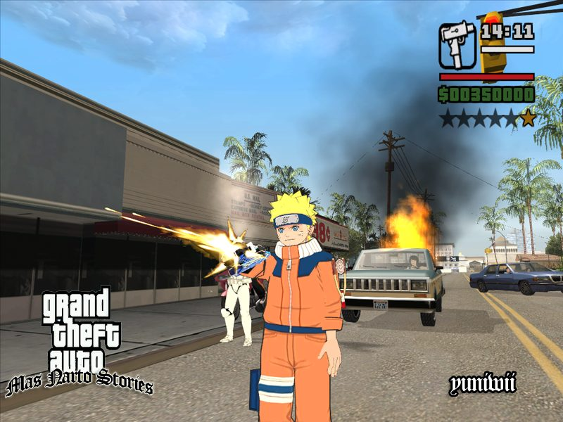 GTA San Andreas Naruto mod | GTA Indonesia