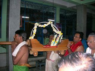 Pallaki Seva for Shri Purandhara Daasaru