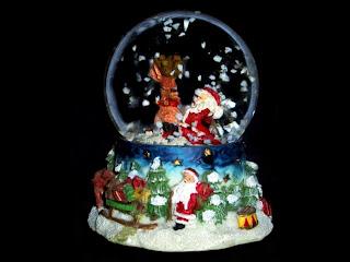 Palla di neve Natalizia