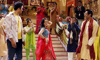 Mitico balletto in stile Bollywood