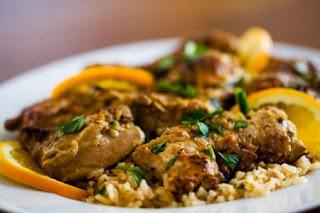 Orange Marinated Chicken Recipe
