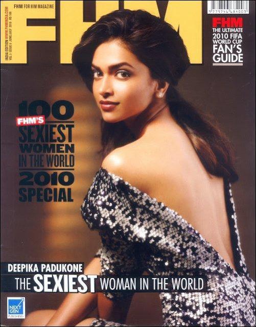 Deepika Padukone FHM Magazine Sexiest Women