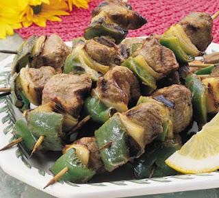 Spicy Lamb Kabob