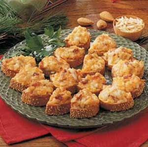 Gourmet Almond Cheddar Hot Appetizer Recipe